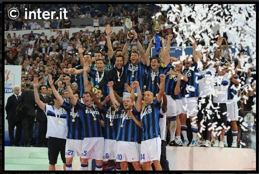 Inter won Coppa Italy