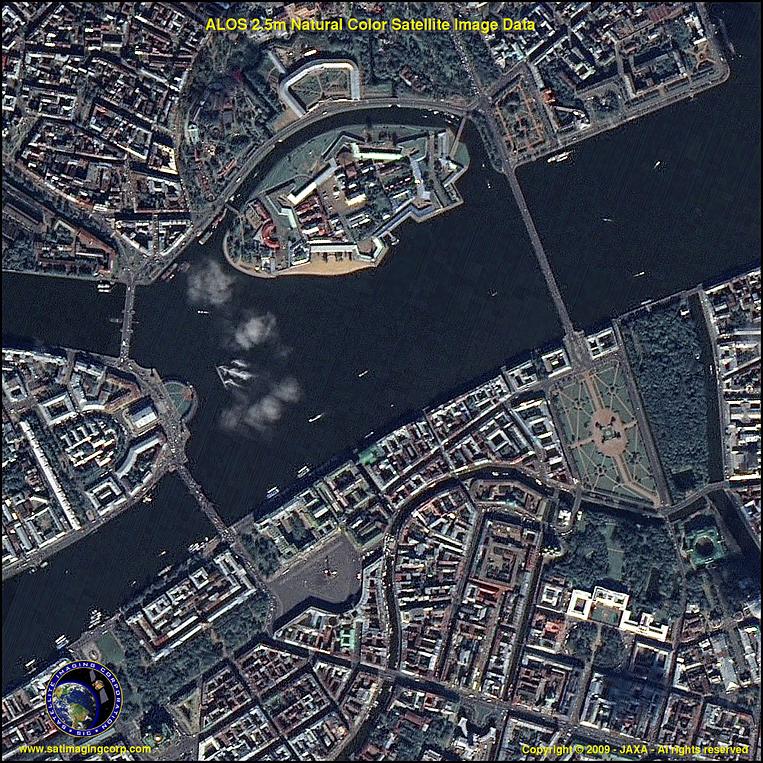 Hasil Citra Foto Satelit Citra Satelit Alos Hasil Fusi
