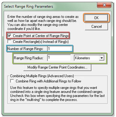 Gambar 11. Select Range Ring Parameters