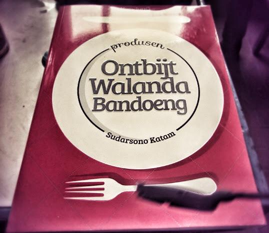 Buku Ontbijt Walanda Bandoeng Karya Sudarsono Katam Miliknya Kang Irfan